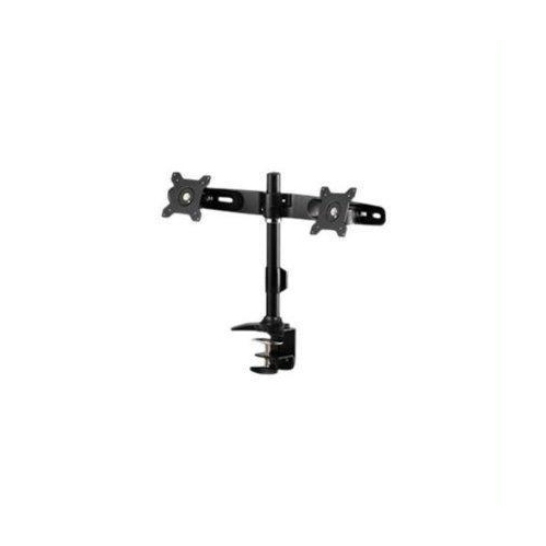 A Clamp based mount that supports up to two 24 LED/LCD monitors - each weighing