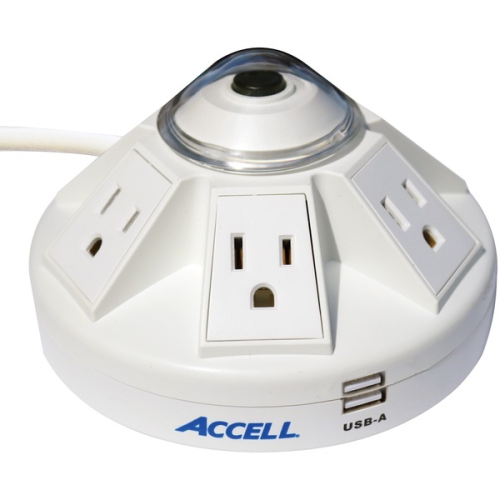 Accell Corp D080B-014K Accell Surge Protector D080B-014K Powramid Power Center a
