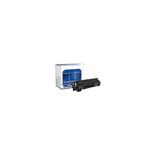 DataProducts remanufactured toner cartridge - Black - for use with: HP LaserJe
