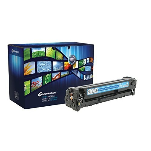 DataProducts remanufactured toner cartridge - Cyan - for use with: HP LaserJet