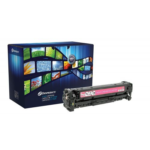 DataProducts remanufactured toner cartridge - Magenta - for use with: HP LaserJ