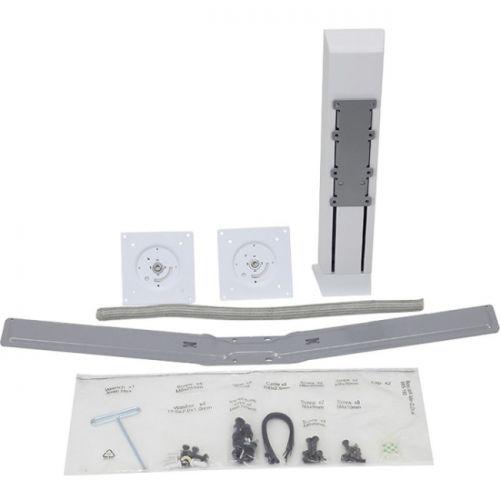 WorkFit Dual Monitor Kit (white)