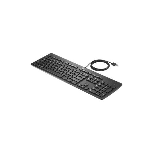 HP N3R87AA BUSINESS SLIM KEYBOARD USB US FOR ELITE SLICE FOR MEETING ROOMS, SLICE G1, RETAIL SYSTEM MP9 G2, RP9 G1 RETAI