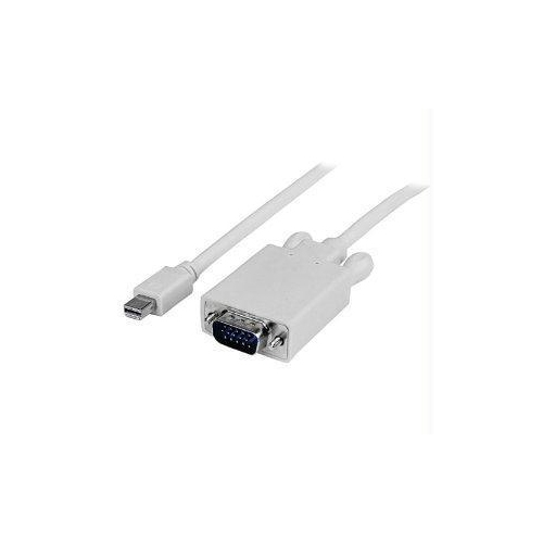 Connect a Mini DisplayPort-equipped PC or Mac to a VGA monitor/projector - with