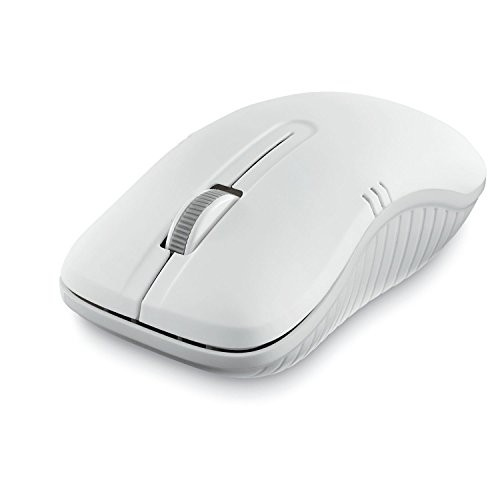 Wireless Notebook Optical Mouse - Commuter Series Matte White