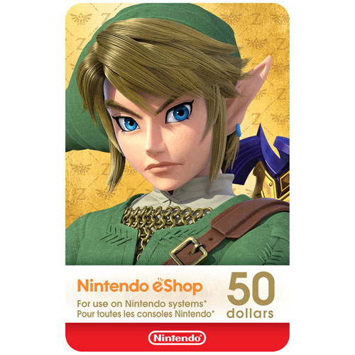 Nintendo eShop 50 Dollars - Digital Download