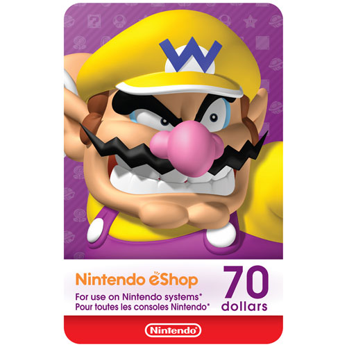 Nintendo eShop 70 Dollars - Digital Download