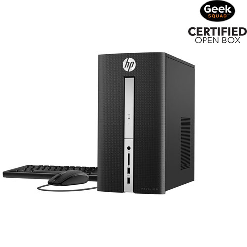 HP Pavilion PC (Intel Core i5-6400T/ 2TB HDD/ 12GB RAM/ Windows 10) - Open Box
