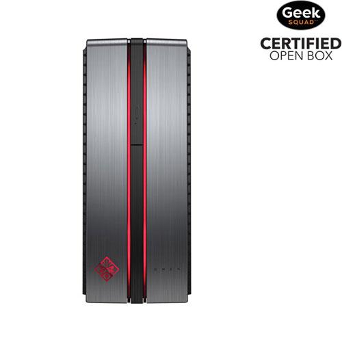 Ordi. OMEN de HP (i7-7700 d'Intel/DD 1 To/SSD 128 Go/RAM 12 Go/GeForce GTX 1060 de NVIDIA/Win 10)-BO