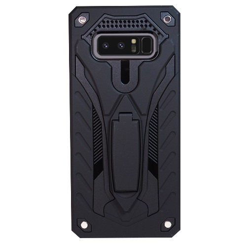 Exian Samsung Galaxy Note 8 2017 Armored Case with Stand Black
