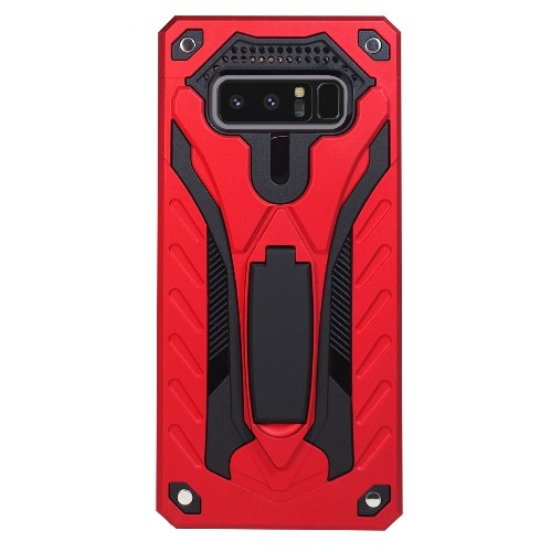 Exian Fitted Hard Shell Case for Samsung Galaxy Note 8 - Red