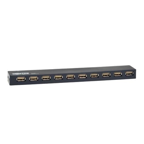 Tripp Lite 10-Port USB 2.0 Hi-Speed Hub (U223-010)