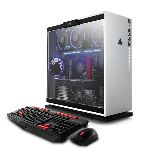 Cybertron PC TGVCLXGXH7A02WU - White (AMD Threadripper 1950X/3TB HDD/240GB SSD/8GB RAM/NVIDIA GTX 1070/Windows 10 Home 64-Bit)