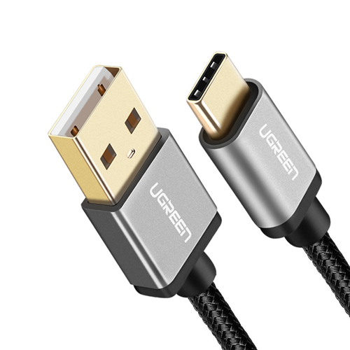UGREEN USB 2.0 to USB-C cable with nylon webbing