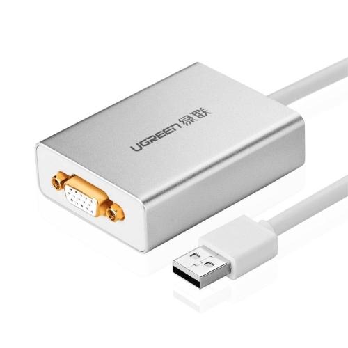 UGREEN USB vers VGA Adaptateur Carte Graphique Externe pour Moniteurs Multiples Résolution 1080P