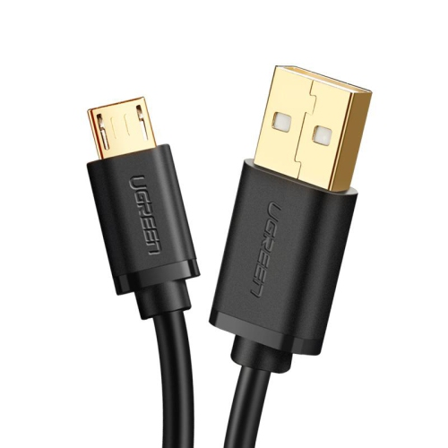 UGREEN Micro-USB male to USB male cable gold-plated 0.25M-3M: 28+22AWG OD:4.5MM White