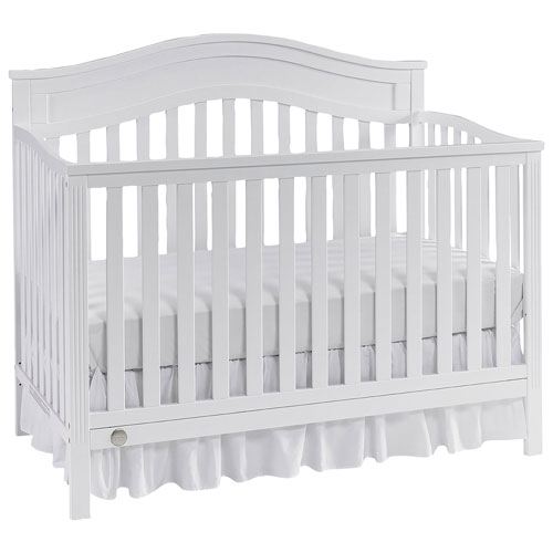 Fisher price aubree 4 in 1 convertible crib eggshell for Best value baby crib