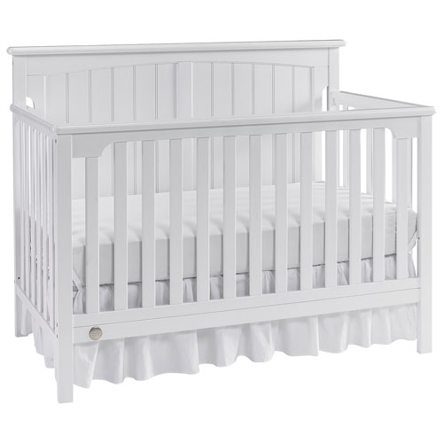 Fisher Price Colton 4 In 1 Convertible Crib Eggshell White Baby
