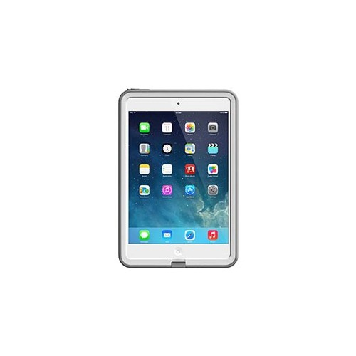 iPad Mini w/Retina LifeProof White/Grey Fre case