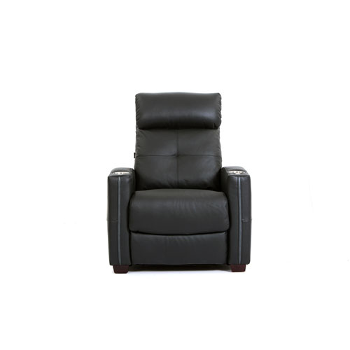 Octane Seating Cloud XS850 Leather Recliner - Black