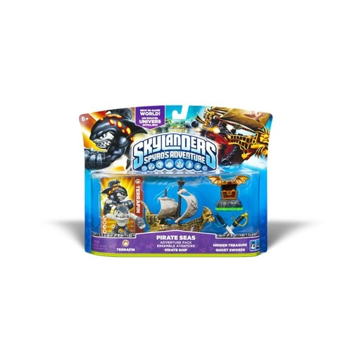 SKYLANDERS SPYROS ADVENTURE PIRATE SEAS PACK