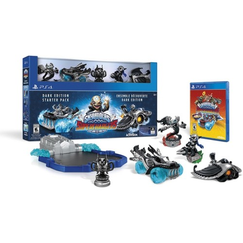 SKYLANDERS SUPERCHARGER DARK EDITION STARTER PACK