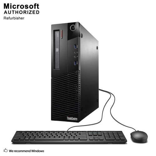 Lenovo M83 SFF Intel Core i5 4570 3.2G,12G DDR3,3TB,DVDRW,WIFI,BLUTETOOTH 4.0,W10H(EN/FR)-1 Year Warranty,Refurbished