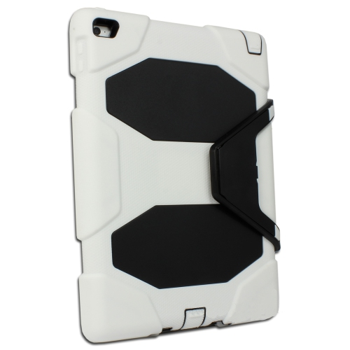 "Coque de protection ultra résistante pour Apple iPad 9.7"" 2017/2018 /iPad Air 2 - Blanc"