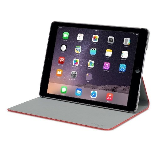 Logitech Folio Protective Case for iPad Air, Mars Red Orange 939-000656