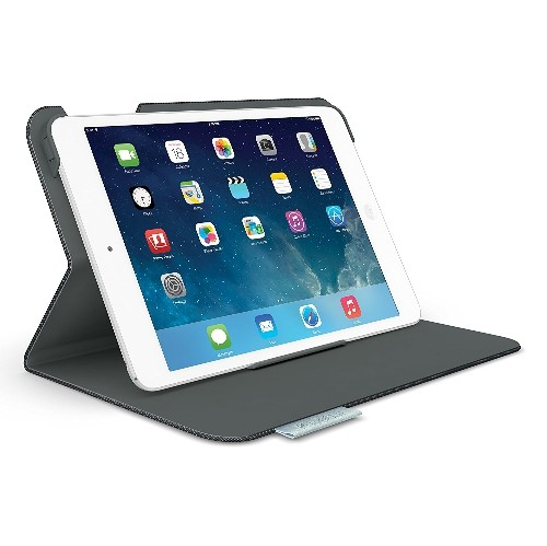 Logitech Folio Protective Case for iPad mini and iPad mini with Retina Display, Carbon Black (939-000876)