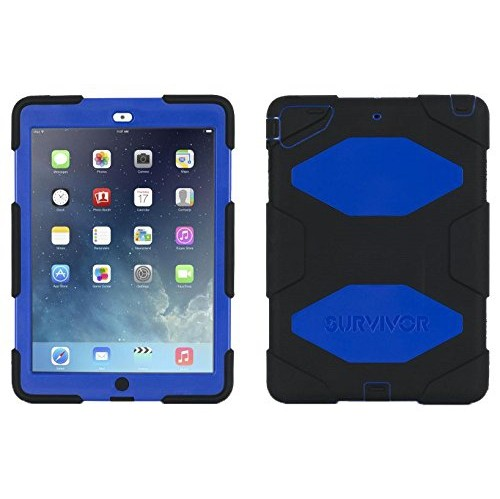 Griffin GB364032 Survivor iPad Air Case Black Blue