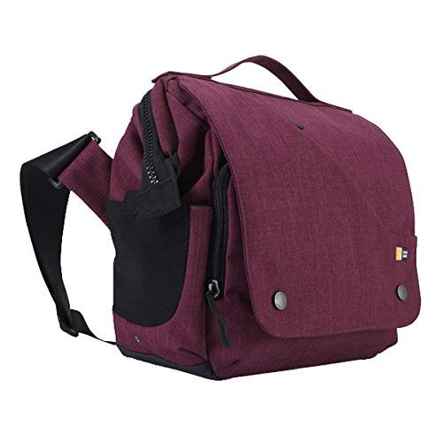 Case Logic FLXM-101 Reflexion DSLR with iPad Small Cross Body Bag (Pomegranate)
