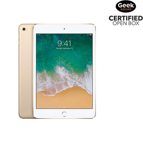 Apple iPad mini 4 128GB With Wi-Fi - Gold - Open Box