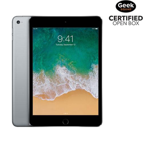 Apple iPad mini 4 128GB With Wi-Fi & 3G/4G/4G LTE - Space Grey - Open Box
