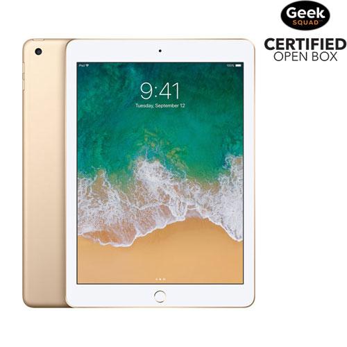 """Apple iPad 9.7"""" 128GB with Wi-Fi - Gold - Open Box"""