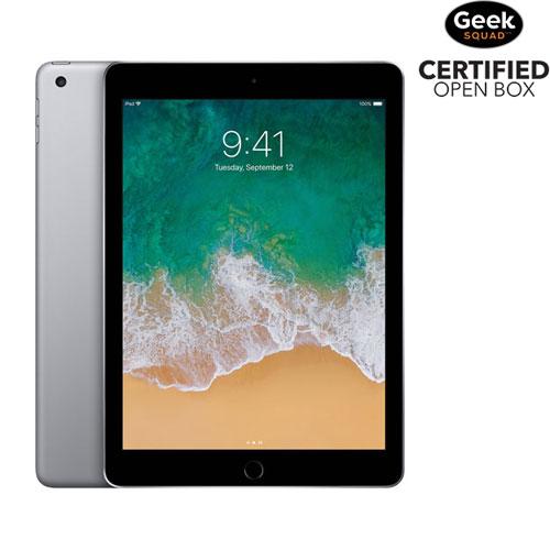 iPad 9,7 po et 128 Go avec Wi-Fi d'Apple - Gris cosmique - Boîte ouverte