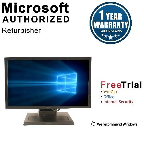 Dell AIO OPTIPLEX 7010 SFF Intel Core i5-3470 3.2GHz,8G,256G SSD,DVD,WIFI,WIN10H+Dell P2211HT 22' LCD Panel-1YW,Refurbished