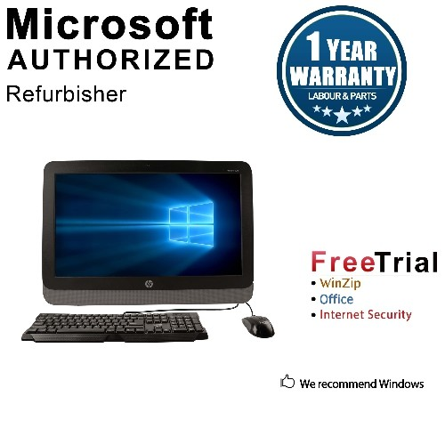 "HP 400G1 AIO 19.5"" Intel Celeron Processor G1820T 2.4GHz,4G,500G,DVD,WIFI,WIN10H-1 Year Warranty,Refurbished"