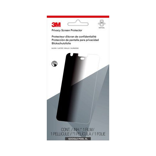 3M Black Out Privacy Screen Protector for Google Pixel XL - (MPPGG004)