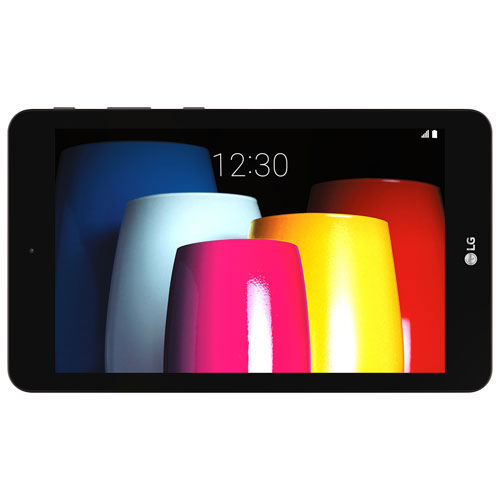 "Rogers LG G Pad IV 8"" 32GB Android 7.0 LTE Tablet With Qualcomm Snapdragon Octa-Core Processor-Black"