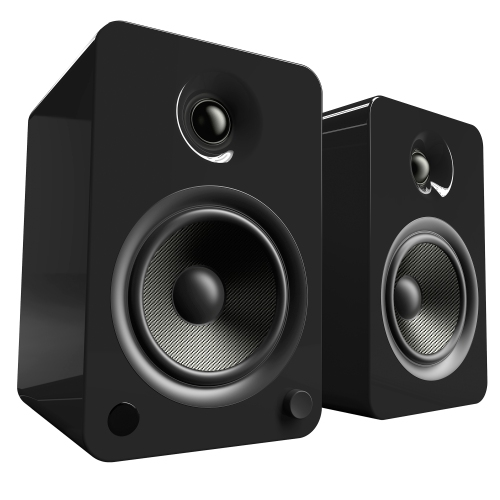 Kanto YU6 Powered Speakers With BluetoothR And Phono Preamp Gloss Black
