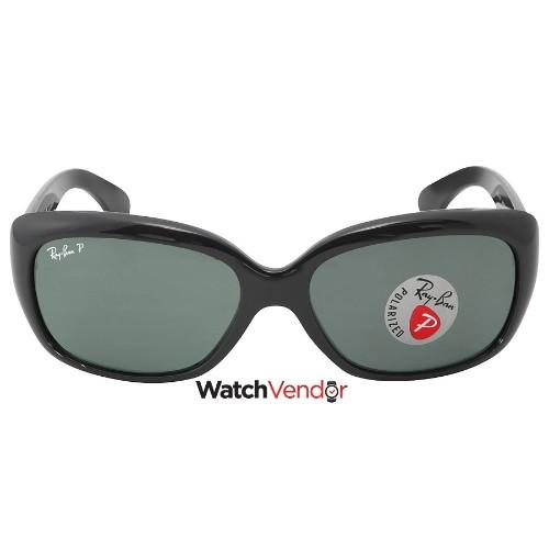 5b2cd3fd07 ... spain ray ban jackie ohh polarized green classic g 15 ladies sunglasses  rb4101 601 58 58