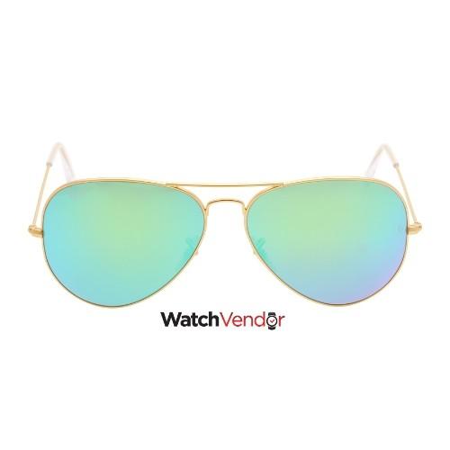 65a2776982 Ray-Ban Aviator Green Flash 62 mm Sunglasses RB3025 112 19 62