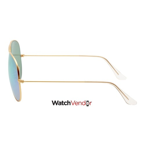 dcffe550cd Overview. Ray-Ban Aviator Green Flash 62 mm Sunglasses RB3025 112 19 62
