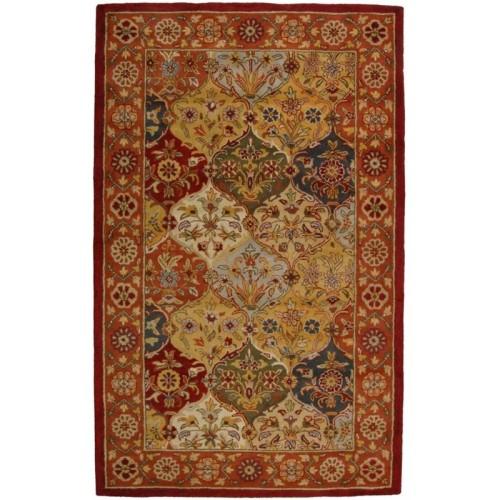 Safavieh Heritage Oval Hand Tufted Wool 7 6 X 9 6 Oval Area Rug