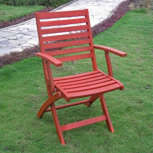 International Caravan Patio Furniture.International Caravan Royal Fiji Set Of 2 Patio Chair In Barn Red