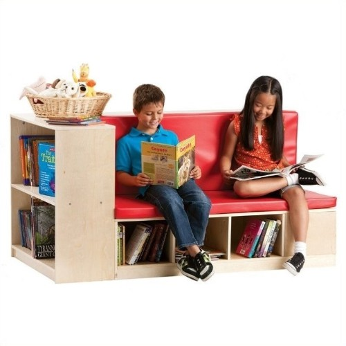 Guidecraft Modular Library Storage/Seating