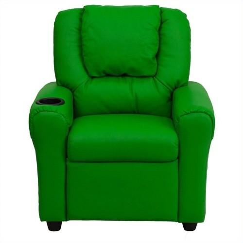 Flash Furniture Kids Recliner in Green