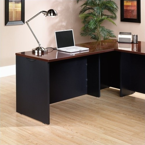 sauder l shaped desk 401446 cherry desks workstations best rh bestbuy ca sauder l shaped desk cherry sauder l shaped desks