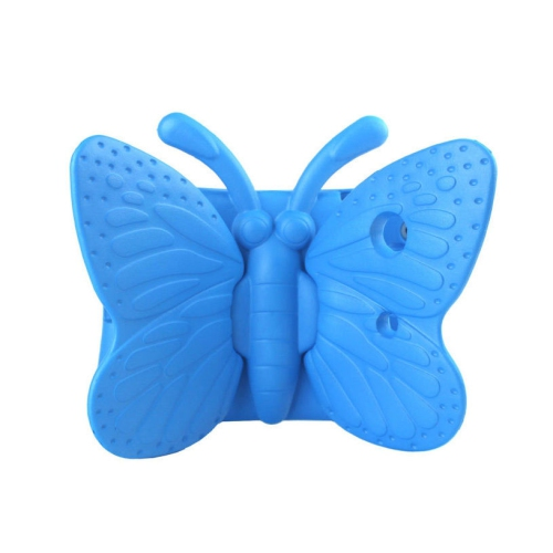 Shockproof Butterfly Foam Stand Case for Apple iPad 2/3/4 Tablet - Baby Blue